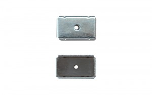 Magnetic Chips Square with Yoke E-2 23x26mm 2pc-pack
