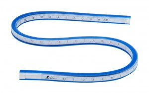 Flexible Rule 40cm with Scale