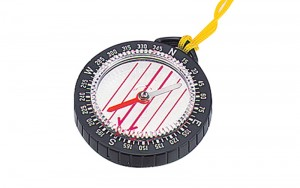 Oil Filled Compass for Orienteering E-2 Round