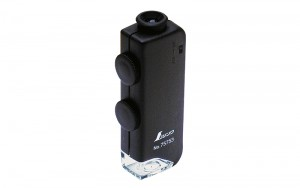 Pocket Microscope H 60x-100x with LED Light