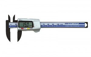 Digital Vernier Caliper Carbon Fiber Body 100mm