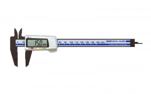 Digital Vernier Caliper Carbon Fiber Body 150mm