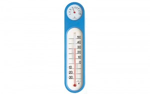 Thermo/Hygrometer Blue