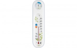 Thermo/Hygrometer ECO White