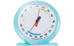 Thermo/Hygrometer Q-1 15cm Blue