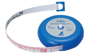 Spring Tape Measure 1.5m