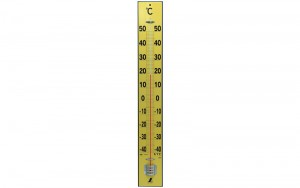 Thermometer Wood 90cm