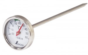Thermometer V-2 -20~60℃ φ3.5x13cm