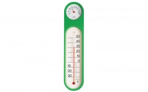 Thermo/Hygrometer Green