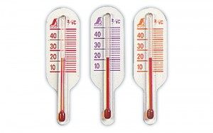 Thermometer for Ground Temperature O-3 Mini A 3pc-pack(Red, Orange, Purple)