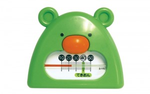 Thermometer for Bath B-9 Green&White