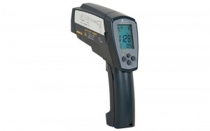 Infrared Thermometer H Emissivity Adjustable Model with Dual Laser Pointer for High Temperature