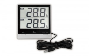 Digital Thermometer Smart C Maximum and Minimum for Indoor & Outdoor with Waterproof Outside Sensor