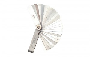 Feeler Gauge D 65 mm 25 Leaves
