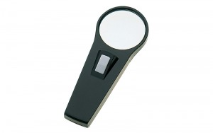 Magnifier with Light for Reading F 65mm 3x
