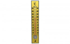 Thermometer Wood 45cm