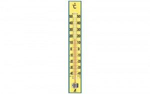 Thermometer Wood  60cm