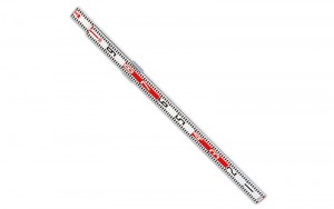 Aluminum Cross Leveling Rod 60mm Wide 1×1.1m