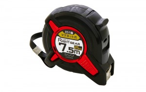 Tape Measure LIGHT GEAR 25-7.5m with Magnetic Hook JIS