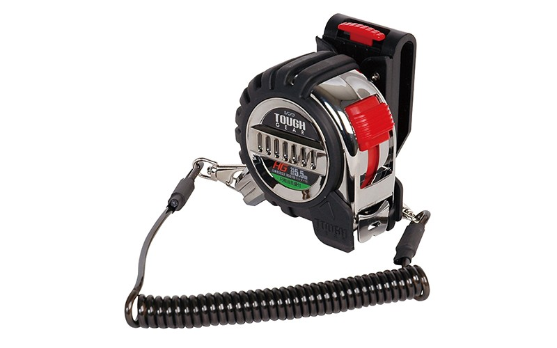 Tape measure tough gear hg 25 55mshaku with holde tape measures tape measure light gear 25 75m jis aloadofball Images
