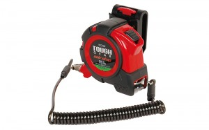 Tape Measure TOUGH GEAR Automatic Stop 25-5.5m/shaku with Holder