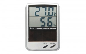 Digital Thermo/Hygrometer B Maximum and Minimum with Solar Panel