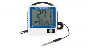 Waterproof Digital Thermometer G-1 Maximum and Minimum Remote-reading
