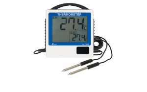 Waterproof Digital Thermometer G-2 Remote-reading for 2 points